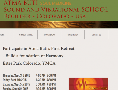 Participate in Atma Buti's First Retreat – Build a foundation of Harmony – Estes Park Colorado, YMCA